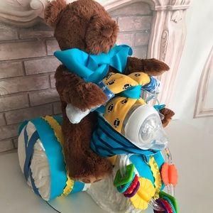 Huggies Accessories - Motorcycle Diaper Cake.